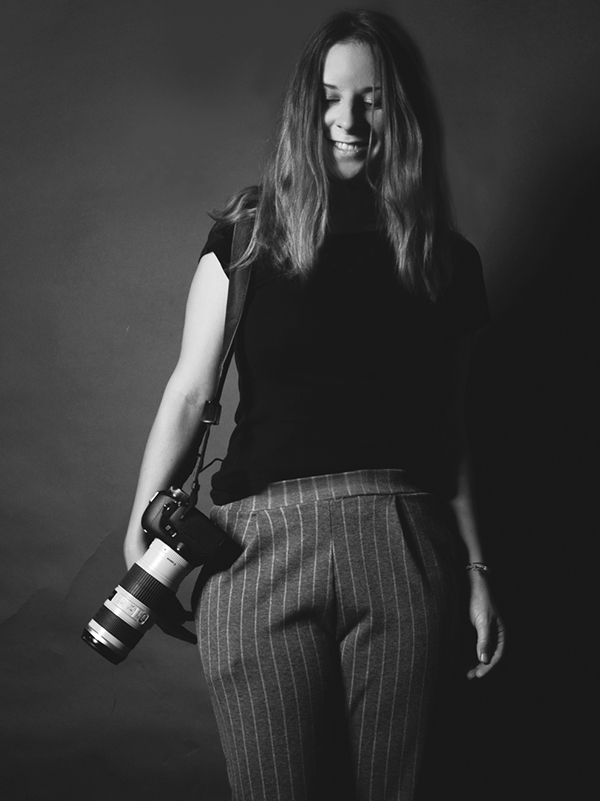 Selbstportrait Eva Andrä